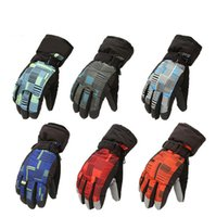 Wholesale Cycling Trek Winter - Fashion Durable Nylon Winter Warmer Gloves Outdoor Thick Glove Unisex Trekking Outdoor Sports Cycling Climbing Hiking Skiing