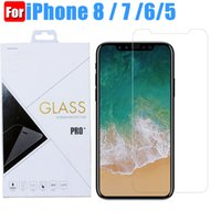 Wholesale G5 Screens - For iphone 8 for iphone 7 6 6s tempered glass film screen protector for samsung J3 Emerge huawei p8-lite-2017 lg g6 moto g5 plus glass