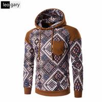 Wholesale Sweatshirt Chinese - Wholesale- Chinese Style 2016 New Autumn Hoodies Men's Fashion Male Hooded Hoodie Casual Patchwork Sweatshirt Men Slim Fit Men Hoody M-XXL