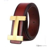 Wholesale High Jeans Girls - 2017 Luxury Brand famous Designer Belts Men High Quality Male genuine leather Business Casual belt men ermes Buckle Strap for Jeans ceint