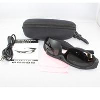 Wholesale Sports Hd Sunglasses Spy Camera - Wholesale- Exclusive Digital Audio Video Camera DVR Sunglasses black fashion Sport Camcorder cam Recorder hidden For Driving Outdoor spy