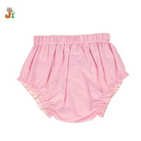Wholesale Girl Shorts Clothes - custom made FOR YOU Girls Baby Clothing Baby Cotton PP Shorts Kids Summer Triangular Bread Pants Shorts Baby Girls PP Pants Bloomers