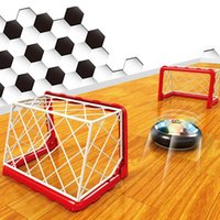 Wholesale Net Floats - Kids Sports Toy Funny Air Power Soccer Indoor Fun Football Float Like Magic Soccerball Soccer Goal Post Net Outdoor Playing Toy VE0257