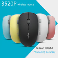 Wholesale Super Mini Usb Mouse - Rapoo 3520P 5G Optical Wireless Mouse USB Gaming Mice with Super Slim Portable Mini Receiver Mice For Laptop Computer Home Mouse