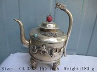 Wholesale China Taps - The ancient Chinese collecting antique copper tap the teapot