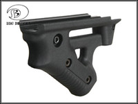 ingrosso nuovi montanti-Nuovo Tactical Foregrip Striker grip Airsoft Rail Mounts Grips Black