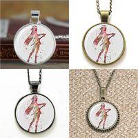 Wholesale asuna sword art - 10pcs Asuna Sword Art Necklace keyring bookmark cufflink earring bracelet