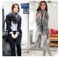 Wholesale Bali Rings - Wholesale 2016 autumn and Winter women Scarf Disc deer Bali yarn shawl Warm Scarves for women Free shipping