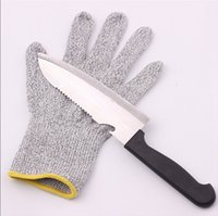 Wholesale Christmas Hand Work - Cut Resistant Gloves Kitchen Glove with Food Grade Level 5 safety Hand Protection Light-weight Work Gloves christmas gifts for housewife new