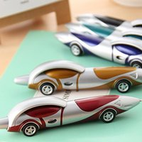 Wholesale Cute Korean Products - New Cute Kawaii Plastic Car Ballpoint Pen Novelty Ball Pen Creative Items Products Gift Korean Stationery
