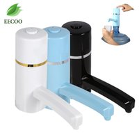 Wholesale Bottle Water Pumps - Water Bottle Dispenser Water Wireless Rechargeable Electric Water Pump Portable Drinking Bottles Drinkware Tools For Sports  Camp