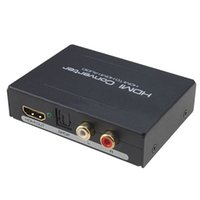 Wholesale Video Optical Converter - Newest HDMI to HDMI & Optical SPDIF Suppport 5.1 + RCA L R Audio Video Extractor Converter Splitter Adapter drop shipping