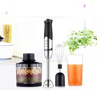 Wholesale Baby Food Beans - 220V Handhled Blender Multifunction Baby Food Mixer Juice  Milk Shake Rice Paste Egg Beater 8 Gear Speed Cooking stick