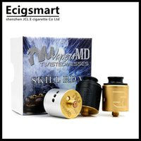 Wholesale Wholesale Dripping Atomizers - Wholesale- Skill RDA Atomizer 2 Posts Rebuildable Dripping Tank 510 thread For Electronic Cigarette