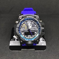 Wholesale watch mens digital - 2017 Men Top Brand Sports Wristwatch G Military Fashion Modern Waterproof watches Mens Digital Wholesale Watches relogio masculino relojes
