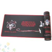 ingrosso tappetino per bar-Cool Design Demon Killer Bar Mat gomma naturale + Multi-spandex Materiale Bar rettangolo Pad Fit sigaretta elettronica DHL libero