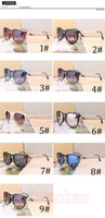 2017 New Arrival Elegant HOT Classics Retro Fashion MenWomen's Round Gafas de sol Outdoors Beach Driving Ciclismo Big Frame Óculos Goggle