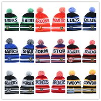 Wholesale Free Style Soccer - 2017-18 New style wholesale NRL Team Beanies Caps Sports Hats Mix Match Order 18 Teams All Caps in stock Top Quality Hat for free shipping