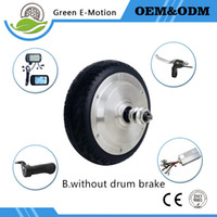 Wholesale Brushless Bike - 6 inch electric rear wheel 36v 200w250w300w350w brushless hub motor electric scooter motor electric bike bicycle wheel motor