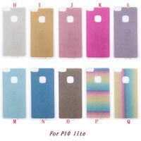 g9 telefonkasten großhandel-Bling Glitter TPU Soft Case für Huawei P10 plus Lite LG G6 Huawei Nova plus Maimang 5 G9 plus bunte Sparkle Handy-Haut-Abdeckung 100pcs