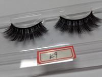fábrica de cílios postiços venda por atacado-Cílios Venda Quente 10 Pares 3D Eye cílios fake falso tira completa cílios para maquiagem Beleza Férias Venda preço de Fábrica