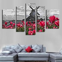 Wholesale Canvas Farm - Modern Printed custom theme Fashion Beautiful farm scenery Painting Canvas painting for home decoration Support Droppshipping