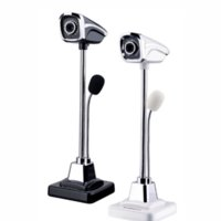 Wholesale Video Camera Interface - New Desktop USB interface HD Webcams Built-in Night LED Lights microphone Web Cam Camera For Computer PC Laptop Video Recording