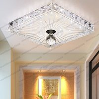 Wholesale Vintage White Glass Lamp - LED Crystal Ceiling Light Lamp Lighting Fixture Vintage Glass Pendant NEW Modern MYY