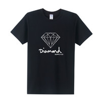 Wholesale Diamond Supply Shirts Free Shipping - summer Fashion short sleeve New printed diamond supply co men t shirt skate brand hip hop top tee free Shipping OT-154