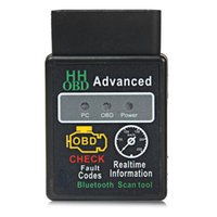Wholesale Android Advance - Mini ELM327 V2.1 Bluetooth HH OBD ELM 327 Advanced OBDII OBD2 Car Diagnostic Tool Scanner Code Reader Scan for Android