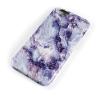 Plastic painting offers - 2016 Special Offer purple color Phone Cases For Iphone s Case Marble Stone Image Painted Cover Mobile Bags Brand New Screen Protector