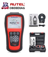 Wholesale Scanner Maxidiag - 100% original Autel code reader Maxidiag Elite MD802 Full System + DS Model + EPB + OLS 4 IN 1 Scanner (MD701+MD702+MD703+MD704)