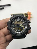 Wholesale Small Boxes Wedding - AAA top quality men's sports GG1000 watches men watch LED chronograph small pointer work g shock waterproof with original box