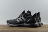 2017 Ultra boost UB 3.0 Super qualité A +++ Hot Triple Black BA8920 Chaussures de course Truth Boost 3 III Black Men Women Sneakers