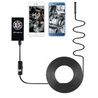 Wholesale Camcorder Cables - ZCF100-7lens 2017 NEW Wireless WIFI Magic Box Digital Camera hard cable Endoscope Mini Camcorder Professional hard cable AT