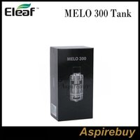 Wholesale High Capacity Power - Eleaf MELO 300 Atomizer Sub Ohm Tank 3.5 6.5ML Capacity New ES Sextuple-0.17ohm Head for Ultra High Power MELO 300 Tank 100% Authentic