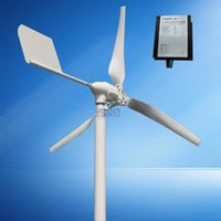 Wholesale Generator For Wind Power - horizontal wind turbine generator 600w max power 800w 12v 24v 48v with wind charge controller for off grid  on grid system