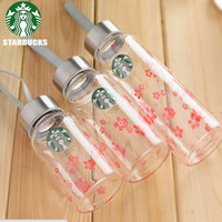 Wholesale Lovers Cup - 180ml starbucks famous coffee brand logo water thermos cup glass my bottle portable cups for lovers children mug