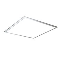 Wholesale suspended ceiling led lights for sale - Group buy Dimmable LED Ceiling Panel Light x1200 x1200 w w SMD Recessed Square LED Lamps CE UL Listed AC85 V Fedex