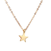 Dogeared Raising Star Best wishes Lucky Tiny Charm Necklace para meninas Silver Gold Plated Clavicle ChainsNecklace Women Jewelry With Card