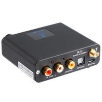 decodificador óptico usb venda por atacado-Atacado-New SMSL B1 NFC sem fio Bluetooth 4.2 Audio Receiver Decoder com fibra óptica de fibra óptica coaxial RCA 3.5mm Função de saída