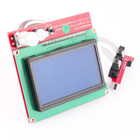 Wholesale 3D Printer Smart Controller Reprap RAMPS LCD Display Controller Adapter Mendel w cm Cable Connector
