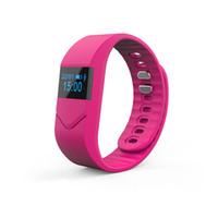 Wholesale Cheap Heart Rate Monitors - Wholesale- Cheap blood pressure smart bracelet fitness tracker M5 Heart Rate Monitor smart wristband watch