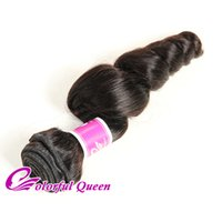 Cheap 100% Virgin Human Hair Weave 1pc Peruvian Virgin Hair Bundles 100g / Lot Straight Kinky Curly Deep Wave Body Wave Loose Wave Naturel
