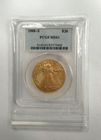 Wholesale 24k gold plated coins - HOT SELLING PCGS Real 24K gold plating $20 1908-S MS61 Saint Gaudens Twenty Dollars Or Double Eagle Coin FREE SHIPPING