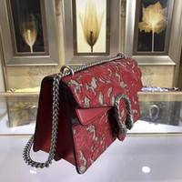 Wholesale Photo Free Prints - 2017.7.18 DHL free shipping real photos classic fashion women top quality leather handbag whith BOX and Instructions book size28X17X9