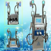 Wholesale Equipment Cavitation Slimming - Newest 4 fat freezing handles fat freeze machine 40K cavitation rf slimming machine lipolaser beauty equipment