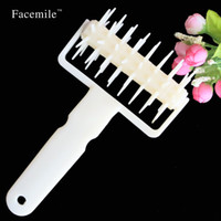Wholesale baking dough resale online - Baking Tools DIY Plastic Pizza Cookies Dough Roller Pastry Pie Needle Wheels Cutter Sewing Machine Cake Bread Hole Punch