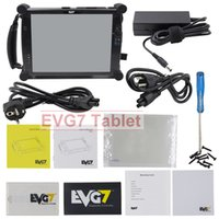 Wholesale Pc Diagnostic Usb - Newest EVG7 DL46 HDD500GB DDR2 4 8GB Diagnostic Controller Tablet PC EVG7 Full-compatible for MB SD C4 for BMW ICOM A2