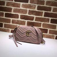 Wholesale Pink White Evening Bag - New women chain single shoulder bag fashion evening bags top quality real leather ladies crossbodybag zipper closure handbag